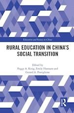 Rural Education in China's Social Transition (Education and Society in China)