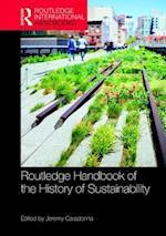 Routledge Handbook of the History of Sustainability (Routledge International Handbooks)