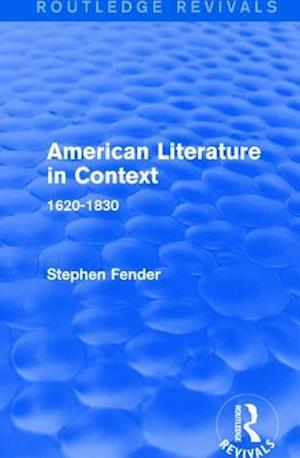 American Literature in Context