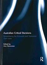 Australian Critical Decisions