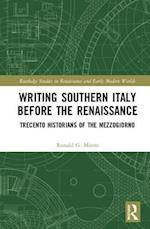 Writing Southern Italy Before the Renaissance