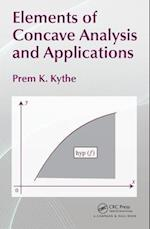 Elements of Concave Analysis and Applications