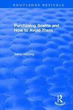 Purchasing Scams and How to Avoid Them (Routledge Revivals)