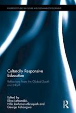 Culturally Responsive Education (Routledge Studies in Culture and Sustainable Development)