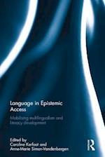 Language in Epistemic Access