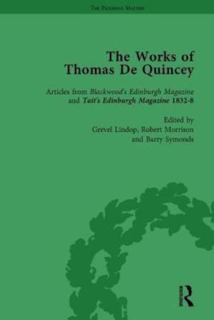The Works of Thomas De Quincey, Part II vol 9