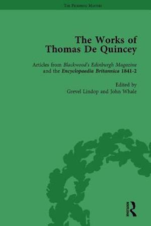 The Works of Thomas De Quincey, Part II vol 13