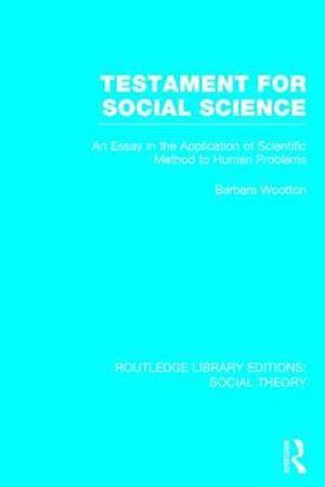 Testament for Social Science