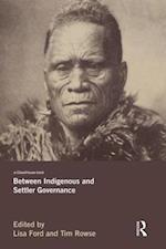 Between Indigenous and Settler Governance