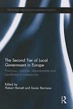 The Second Tier of Local Government in Europe af Hubert Heinelt