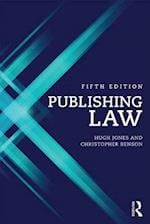 Publishing Law af Hugh Jones
