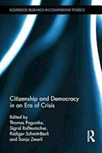 Citizenship and Democracy in an Era of Crisis af Thomas Poguntke