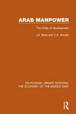 Bog, paperback Arab Manpower af J.S. Birks