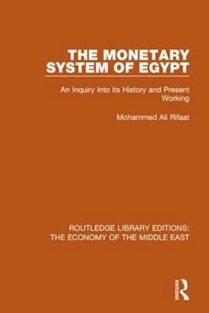 Bog, paperback The Monetary System of Egypt af Rifaat Ali Mohammed
