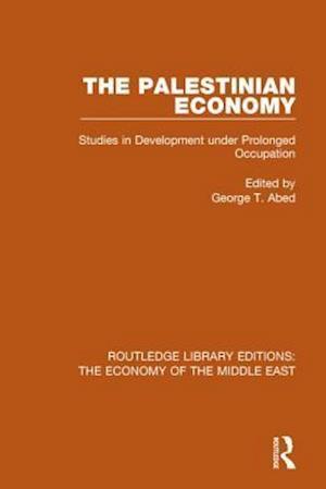 Bog, paperback The Palestinian Economy af George T. Abed