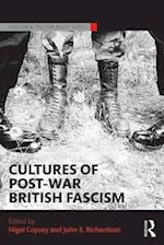 Cultures of Post-War British Fascism af Nigel Copsey