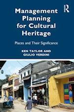 Management Planning for Cultural Heritage