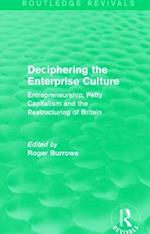 Deciphering the Enterprise Culture