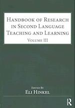 Handbook of Research in Second Language Teaching and Learning (Esl & Applied Linguistics Professional Series)