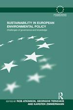 Sustainability in European Environmental Policy af Rob Atkinson