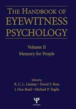 Handbook Of Eyewitness Psychology 2 Volume Set