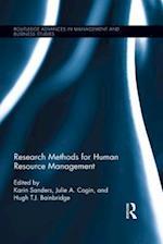 Research Methods for Human Resource Management af Karin Sanders