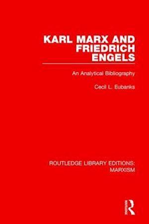 Bog, paperback Karl Marx and Friedrich Engels af Cecil L. Eubanks