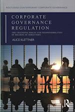 Corporate Governance Regulation (Routledge Contemporary Corporate Governance)