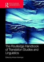 The Routledge Handbook of Translation and Linguistics (Routledge Handbooks in Translation and Interpreting Studies)