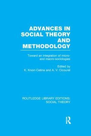 Bog, paperback Advances in Social Theory and Methodology af Karin Knorr Cetina