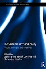 EU Criminal Law and Policy (Routledge Research in Eu Law)