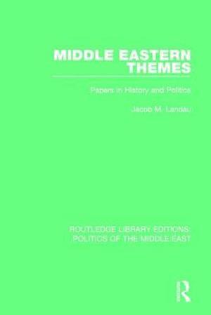 Bog, paperback Middle Eastern Themes af Jacob M. Landau