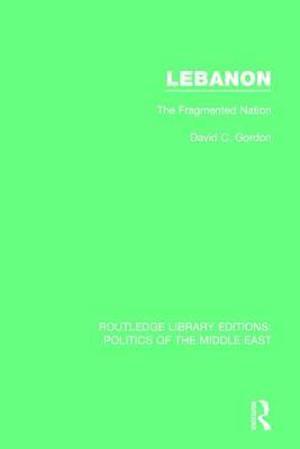 Bog, paperback Lebanon af David C. Gordon