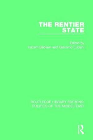 Bog, paperback The Rentier State af Hazem Beblawi