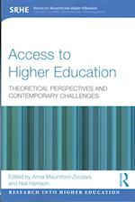 Access to Higher Education (Research into Higher Education)