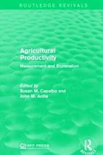 Agricultural Productivity af Susan M. Capalbo