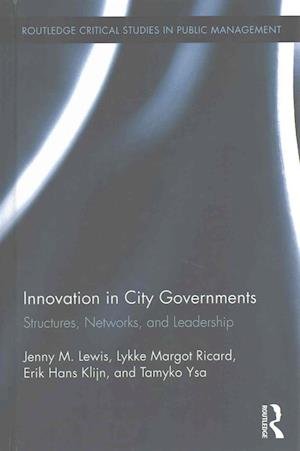 Bog, hardback Innovation in City Governments af Jenny M. Lewis