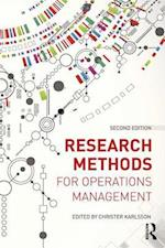 Research Methods for Operations Management