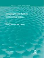 Analyzing Natural Systems af Daniel J. Basta