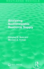 Analyzing Nonrenewable Resource Supply af Douglas R. Bohi