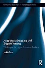 Academics Engaging with Student Writing (Routledge Research in Higher Education)