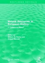 Natural Resources in European History af Antoni MacZak