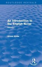 An Introduction to the English Novel (Routledge Revivals, nr. 1)