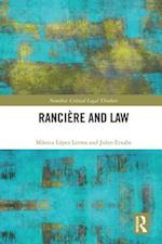 Ranciere and Law (Nomikoi Critical Legal Thinkers)