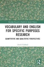Vocabulary and English for Specific Purposes Research (Routledge Research in English for Specific Purposes)