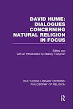 David Hume: Dialogues Concerning Natural Religion in Focus (Routledge Library Editions Philosophy of Religion)