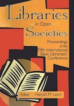 Libraries in Open Societies