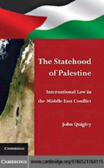 Statehood of Palestine af Quigley