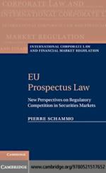 EU Prospectus Law (International Corporate Law and Financial Market Regulation)