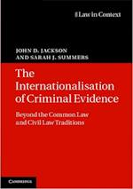 Internationalisation of Criminal Evidence (Law in Context)